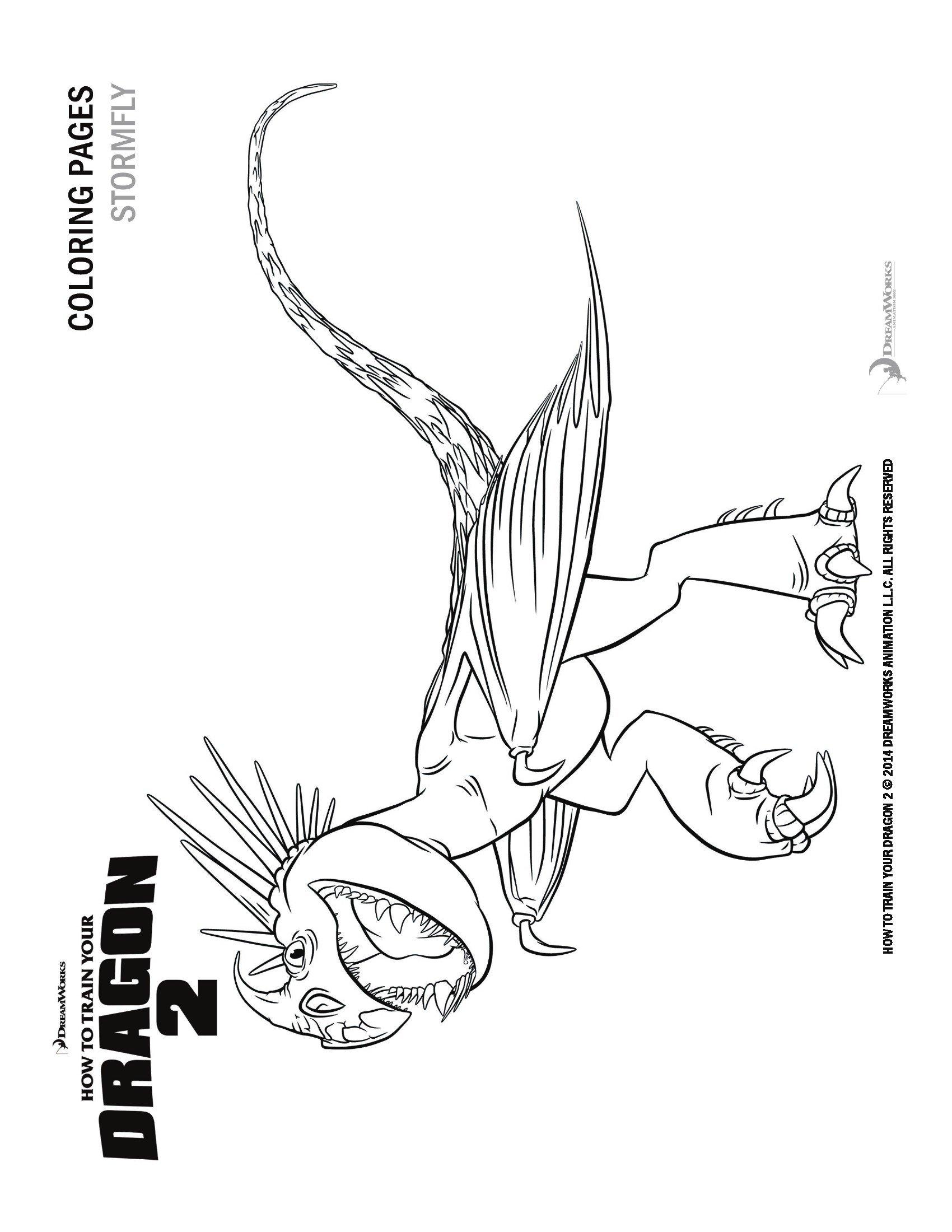 Disegni Da Colorare Dragon Trainer Sogni Doro