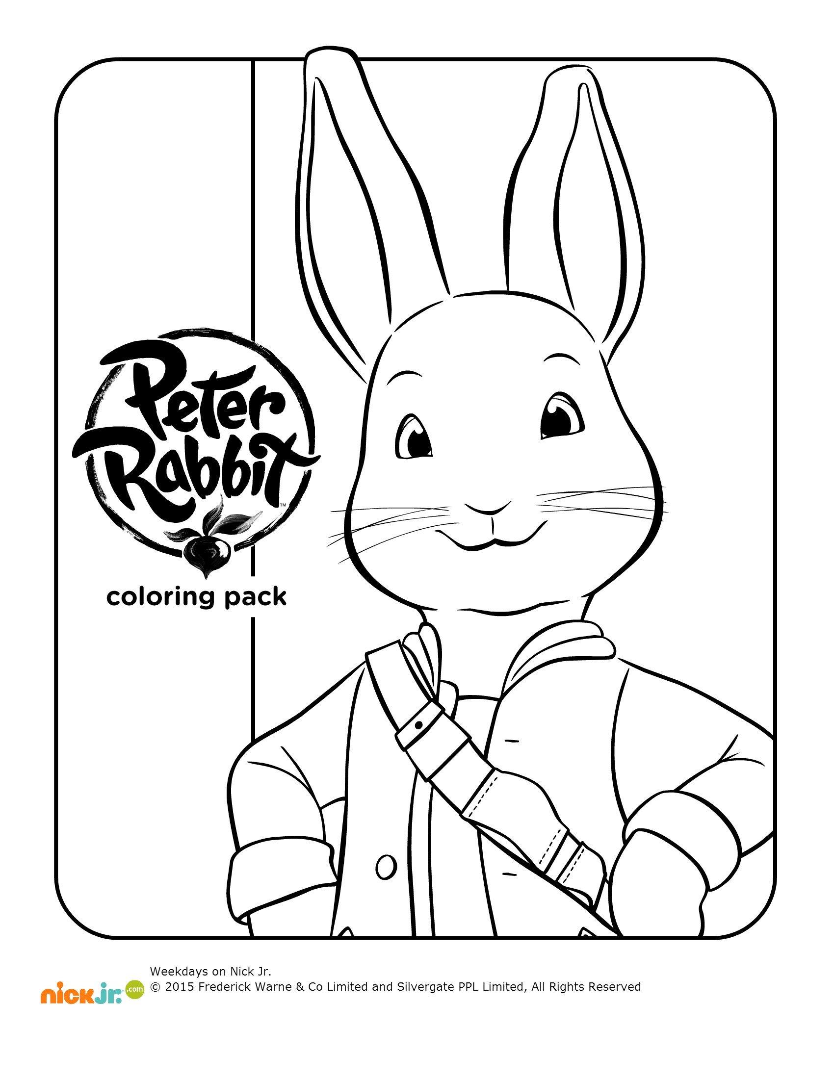 Disegni da colorare peter rabbit sogni d 39 oro for Stampa e colora peter pan