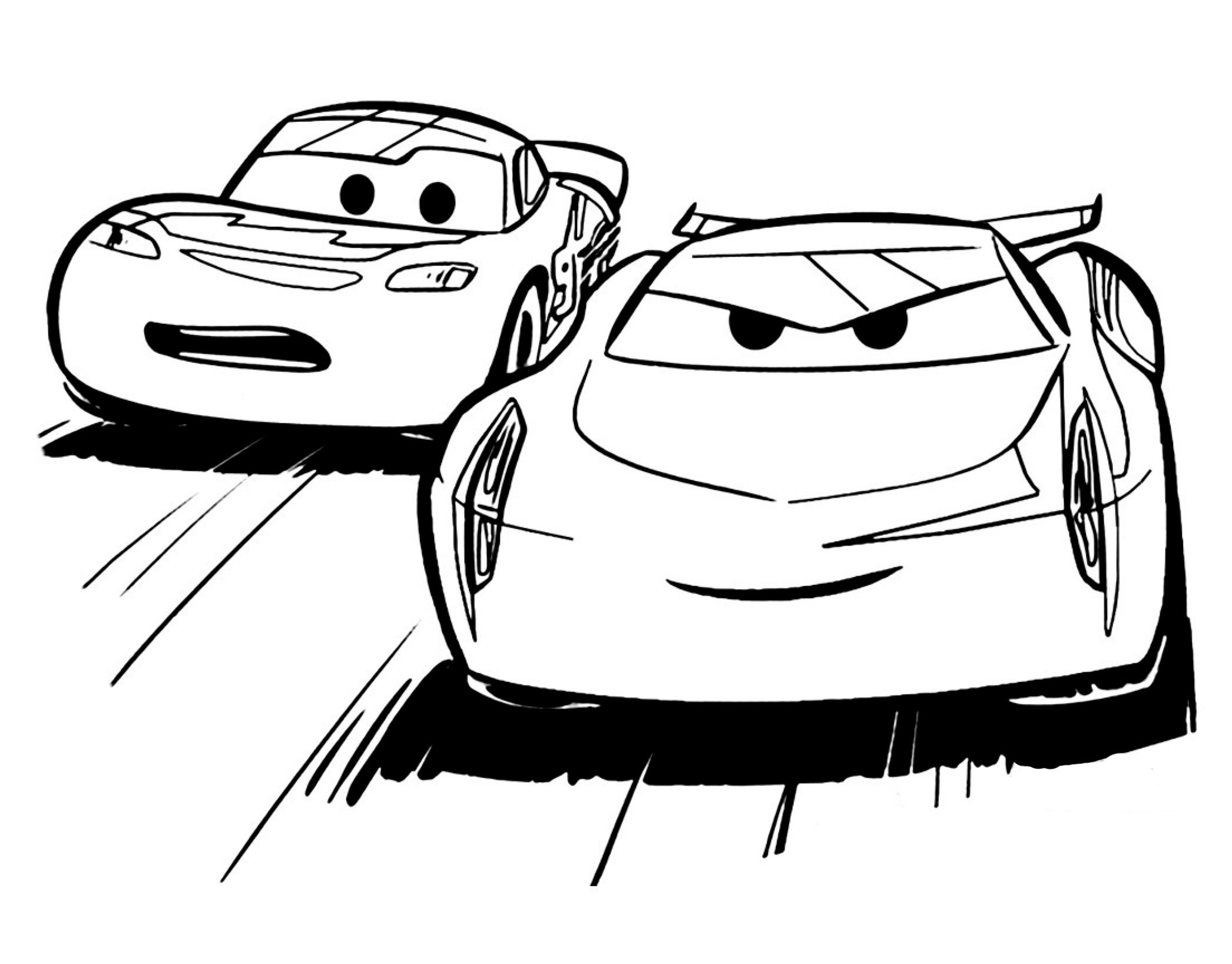 Disegni da colorare cars 3 sogni d 39 oro for Cars 2 da stampare