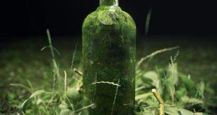 bottiglia verde