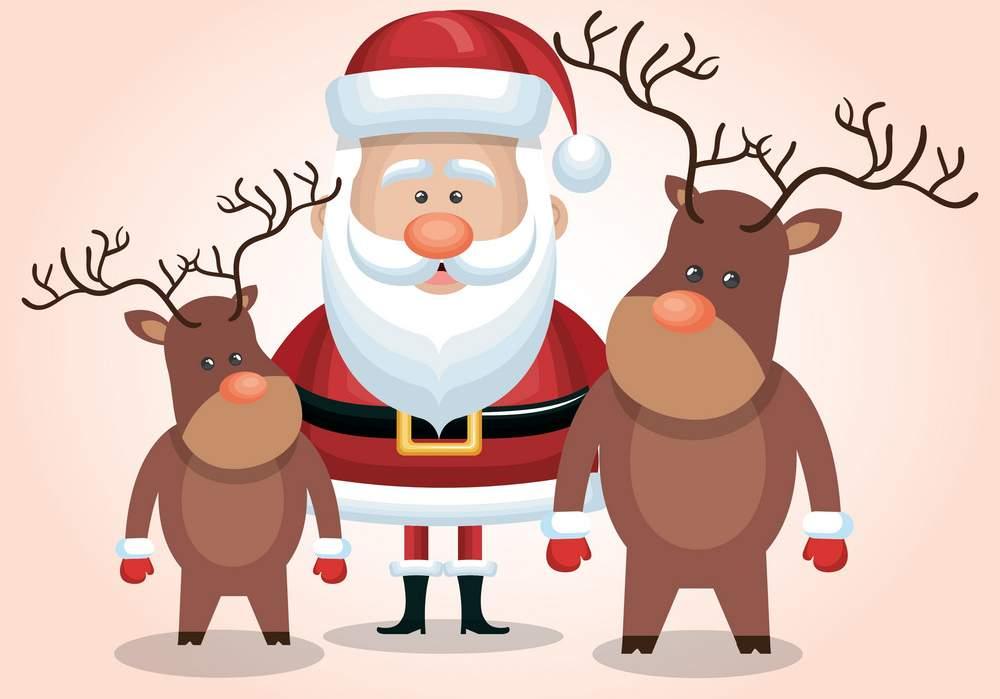 Immagini Di Renne Di Babbo Natale.Le Renne Di Babbo Natale Sogni D Oro