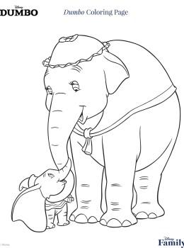 Disegni Da Colorare Dumbo 2019 Sogni Doro