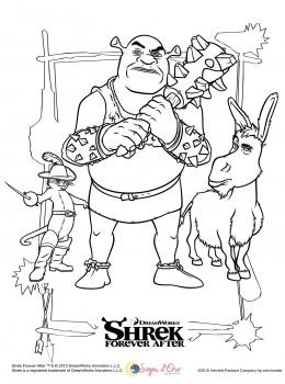 Shrek Disegni Da Colorare Sogni Doro