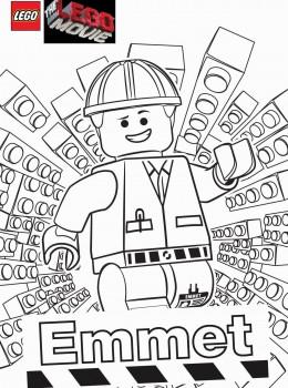 una raccolta di popolare Lego Movie Da Colorare